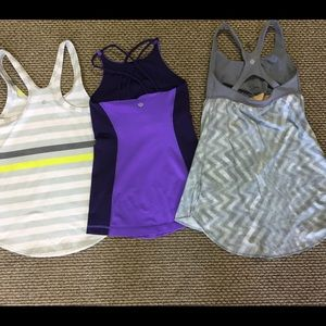 Lululemon athletics tanks